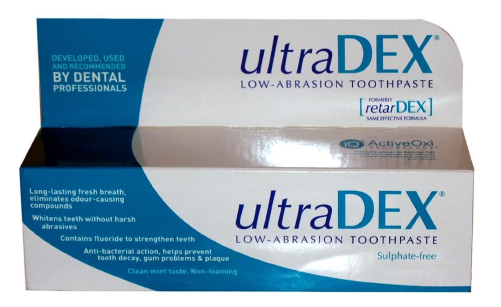 low abrasion toothpaste